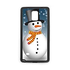Snowman Samsung Galaxy Note 4 Cell Phone Case Black Q6842173