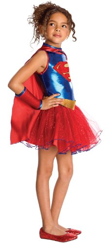 - 4174LghYuDL - Justice League Child's Supergirl Tutu Dress