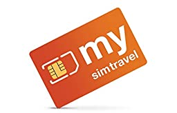 Prepaid International Roaming SIM Card - 3 in one - with $ 20.00 Credit - mysimtravel Global - Requires any Unlocked GSM Phone