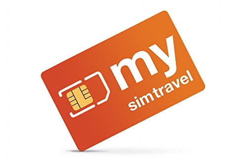 Prepaid International Roaming SIM Card - 3 in one - with $ 20.00 Credit - mysimtravel Global - Requires any Unlocked GSM Phone (Best Credit Card To Earn Travel Miles)
