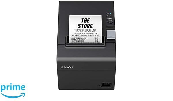 Epson TPV Impresora Tickets TMT20III NEG: Epson: Amazon.es ...