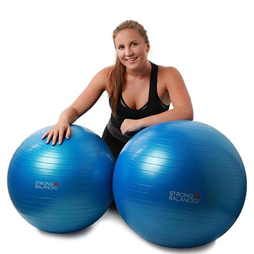 Strong & Balanced Exercise Ball