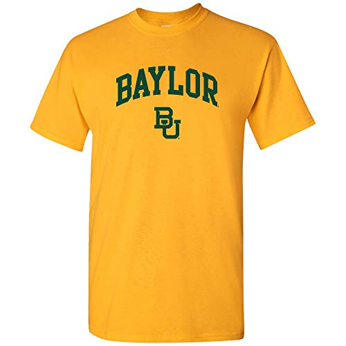UGP Campus Apparel AS03 - Baylor Bears Arch Logo T-Shirt - Medium - Gold