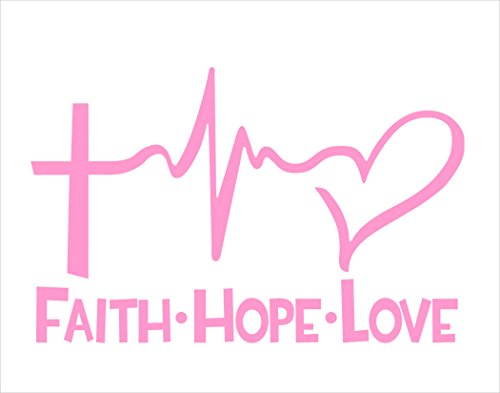 Faith Bumper Sticker Windows Trucks product image