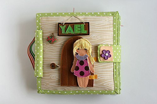 Amazon Com Dollhouse With Felt Paper Doll Handmade By Tomtoy