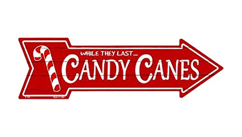 - Eletina Toy Bulk Candy Wholesale Individually Wrapped , Outdoor Decor Candy Canes Novelty Metal Arrow Sign A 160, Candy Cane Decor Outdoor