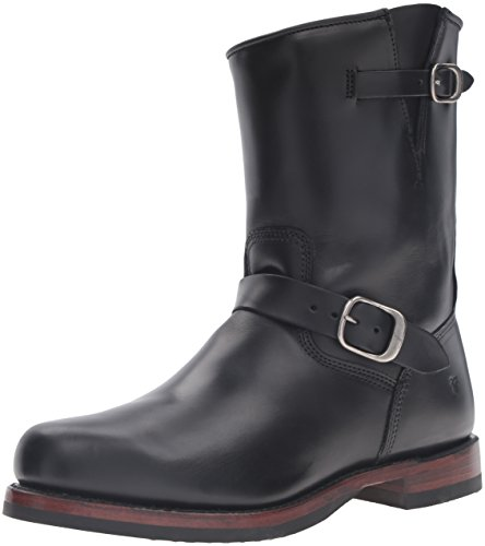 Mens Black Engineer Boots - 9