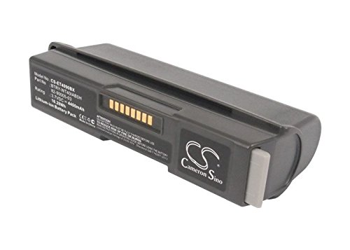 Cameron sino 4400mAh Li-ion Battery 82-90005-03 BTRY-WT40IAB0H Replacement For Symbol WT4000, WT4090, WT4090 I, WT41N0 Barcode Scanner by Cameron Sino