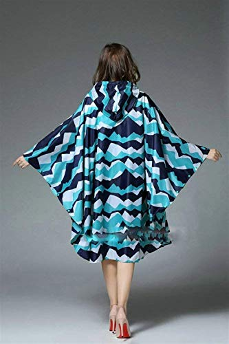 Mujeres Marca Hellblau Chaqueta Aire Al Impermeable Libre Gabardina Impreso Lluvia Flor Las Mode Con Cremallera De Capucha 11qHwzaxI
