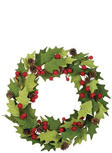 Sullivans Felt Holly Berry Wreath, 22