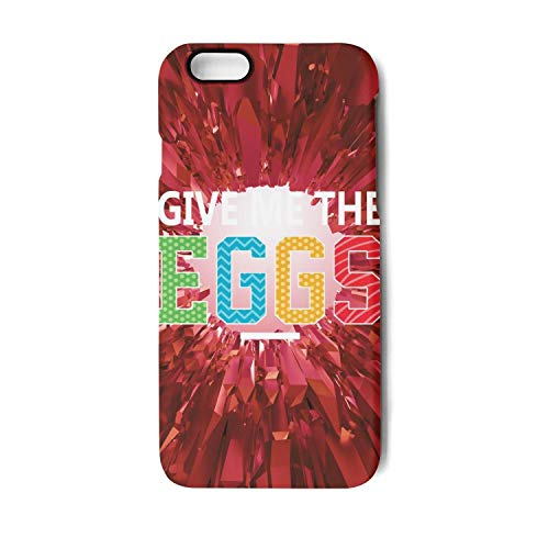 Happy Easter give me The Egg Colorful Easter Basket Unisex Men Girl's Iphone7 iPhone 8 4.7Inch Funny Suspension Cases Covers -