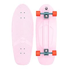 Designed for the flat-day fun, The Penny High-Line Surf skate replicates the feeling of surfing the streets. Designed with summer escapes to warmer climates in mind, the Cactus Wonderland Surfskate takes on soft pink tones of summer sunsets c...