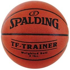 spalding tf trainer weighted basketball