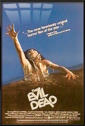 Evil Dead - Framed Movie Poster / Print