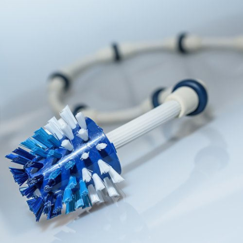 NO Spray - Sweep Hose Tail Scrubber Brush for Polaris/ Pentair Pool cleaner (foam) The Pool'N Brush