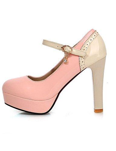 amp; talon Uk1 Chaussures Blanc Eu33 Bout us3 Ggx Rose 5 Arrondi Pink Evénement talons Beige 5 Cn32 Soirée A Aiguille Bleu Femme noir habillé Plateau xIBzBPAw