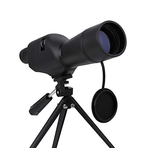 Pinty 20-60×60 Straight Spotting Scope with Tripod, Optics Zoom 36-19m 1000m for Target Shooting Bird Watching Hunting,Waterproof