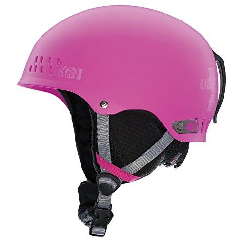 K2 Emphasis Ski Helmet, Pink, Small