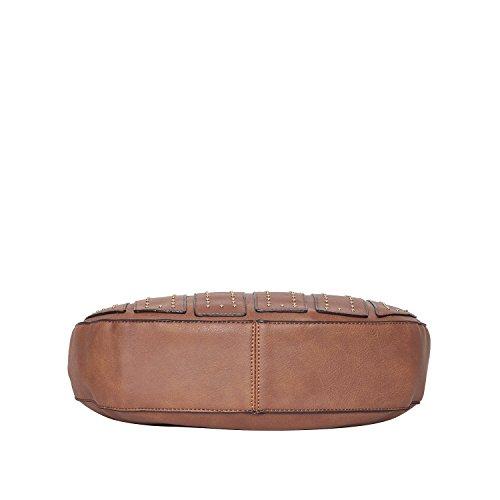 Diana Korr Women's Handbag (Brown) (DK120HBRW)