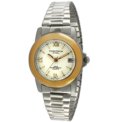 Sub Mariner Date Watch (Timetech Steel 3602L Women's Two-Tone Expansion Watch)