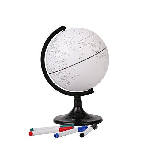 Exerz Blank Educational Globe (8