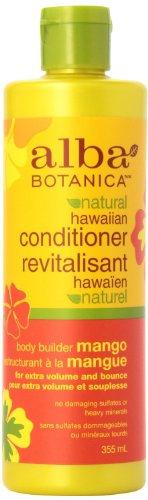 (Alba Botanica Hawaiian Conditioner, Body Builder Mango, 12 Ounce (Pack of 2))