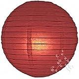 HL Lampion boule chinoise bordeaux 40 cm