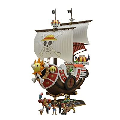 Bandai Hobby Thousand Sunny Model Ship One Piece New World Version: Toys & Games