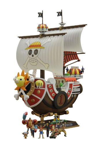 Bandai Hobby Thousand Sunny Model Ship One Piece New World Version by Bandai Hobby