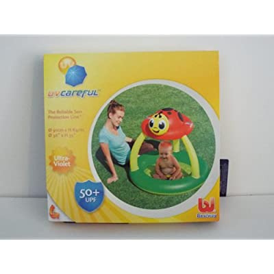 Uv Careful Sun Shade Baby Pool: Toys & Games