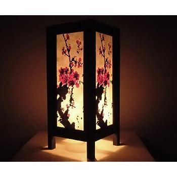 Thai Vintage Handmade Asian Oriental Art Mei Flowers Style
