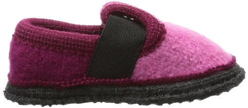 Beck Bobby blau 756 - Zapatillas de casa de fieltro para niños Rosa (Pink (Rosa))