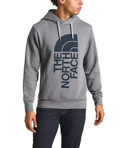 The North Face Men's Trivert Pullover Hoodie TNF Medium Grey Heather/Urban Navy Medium