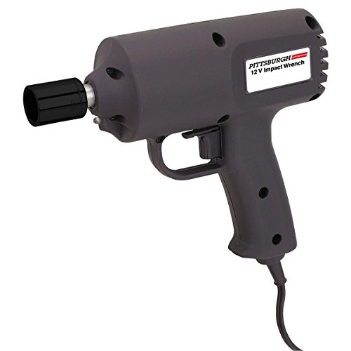 1/2' Reversible Electric Impact Wrench - Chicago Electric Power Tools 12 Volt 1/2