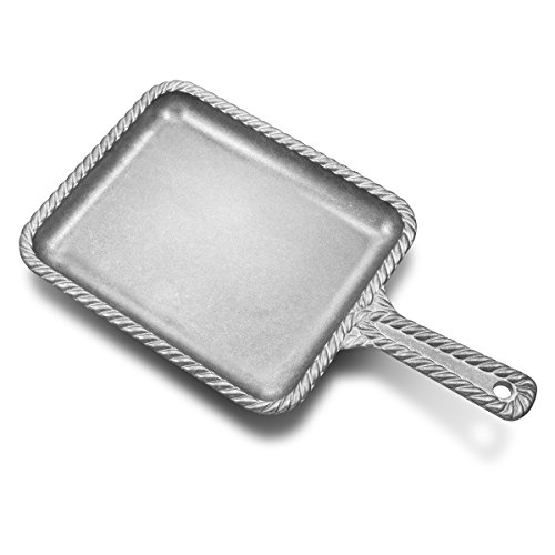 Wilton Armetale Gourmet Grillware Rectangular Skillet, 14.5-Inch - 201015