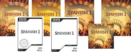 Spanish 1 Subject Kit