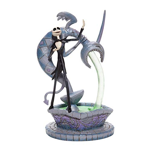 Enesco Disney Traditions By Jim Shore The Nightmare Before Christmas Jack Skellington on Fountain Figurine