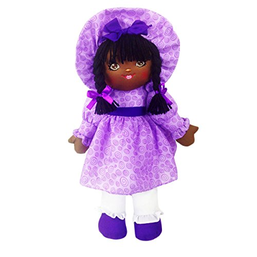 Anico Well Made Play Doll For Children Sweetie Mine, African American, 18