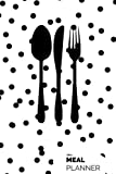 """Small Meal Planner: Spotty 52 week Planner With Weekly Weight Tracker  Record Breakfast, Lunch, Dinner,  Snacks, Water Consumption & Shopping List   ... Goals   6"""" x 9"""" Portable (Healthy) (Volume 8)"""