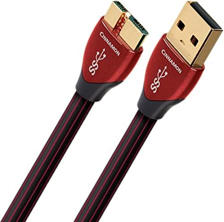 Audioquest 0 75 M Cinnamon Micro Usb 3 0 Usb Kabel 0 75 Computer Zubehör