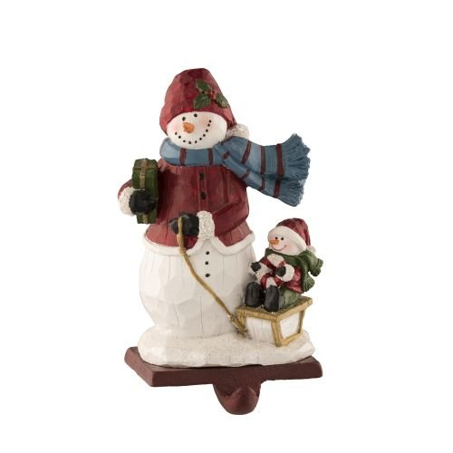 - Aynsley Woolly Hat Snowman Stocking Holder
