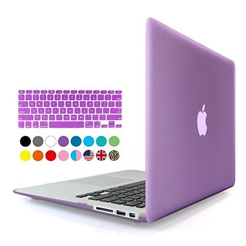 Eastchina - Funda rígida para MacBook Air de 13 pulgadas A1369, A1466 de plástico suave con revestimiento duro, cubierta...