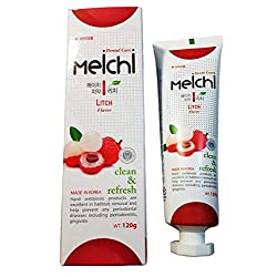 Hanil Meichi Toothpaste (Litch Flavor) for Sensitive Teeth and Halitosis Removal 4.2oz(120g) - Korean Oral Care