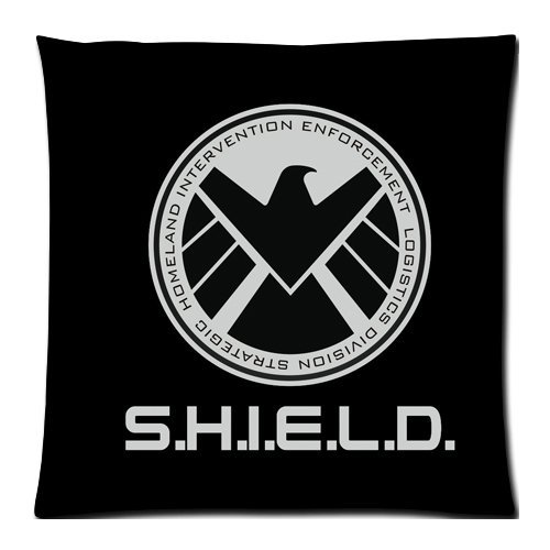 Agents of SHIELD Custom Zippered Pillow Cases 18x18 (Twin sides)