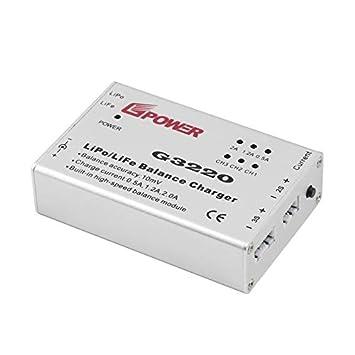 leenBonnie - Cargador de Balance G3220 Apto para batería dji ...