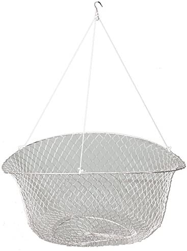 "Promar NE-111W 2 Ring Wire Crab/Crawfish NET 18"" Top Ring, 8"" Bottom Ring"