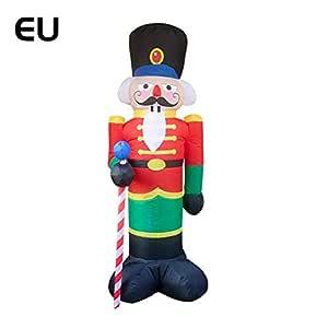 Dream-cool Inflable Papa Noel Al Aire Libre Hinchable Santa Claus ...