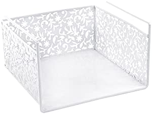 Design Ideas Vinea Under Shelf Basket, White