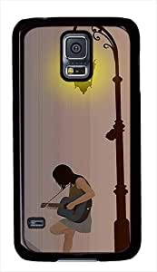 Night Serenade Custom Samsung Galaxy S5 Case Cover - Polycarbonate - Black