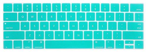 macbook keyboard cover teal - 2